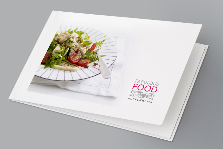 Debenhams Fabulous Food Brochure Design