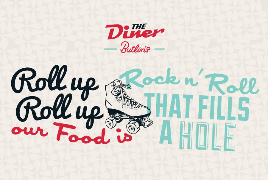 Butlin's Diner Messaging