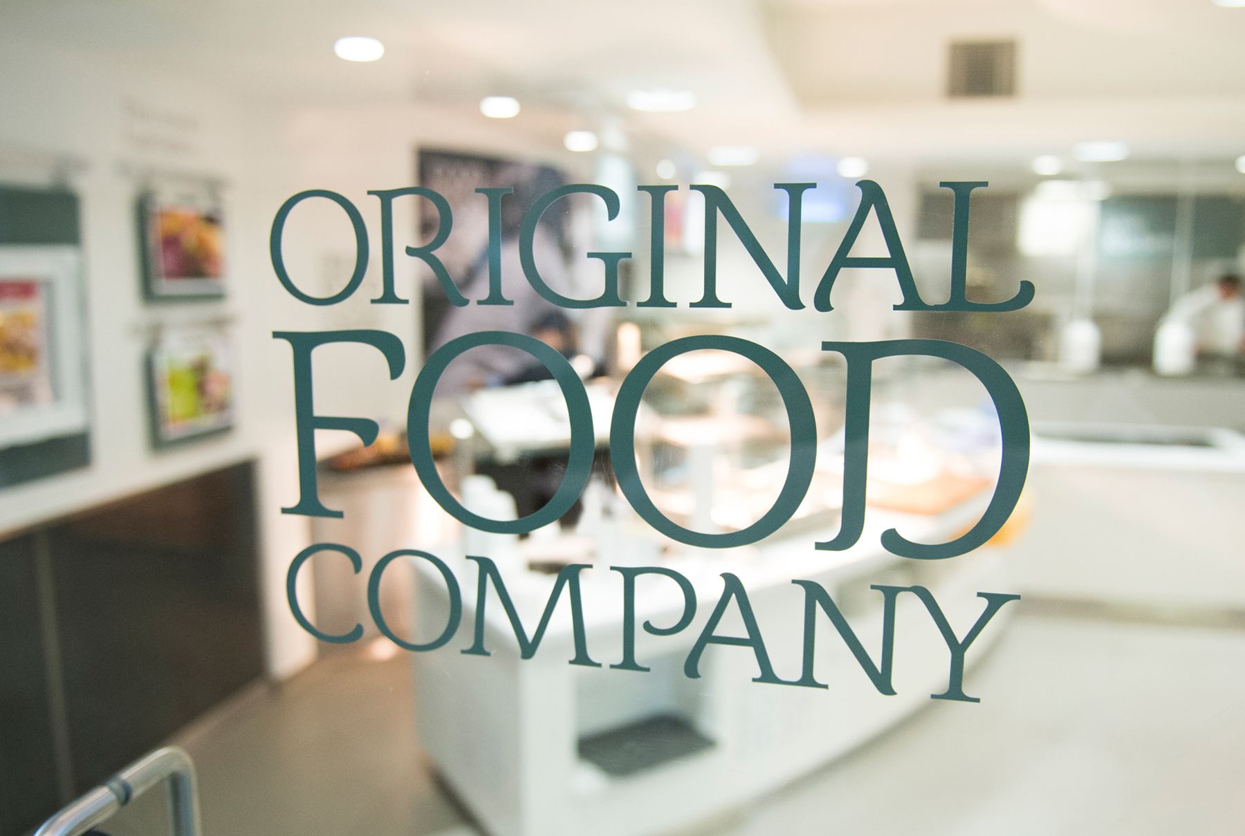 Original Food Company Branding