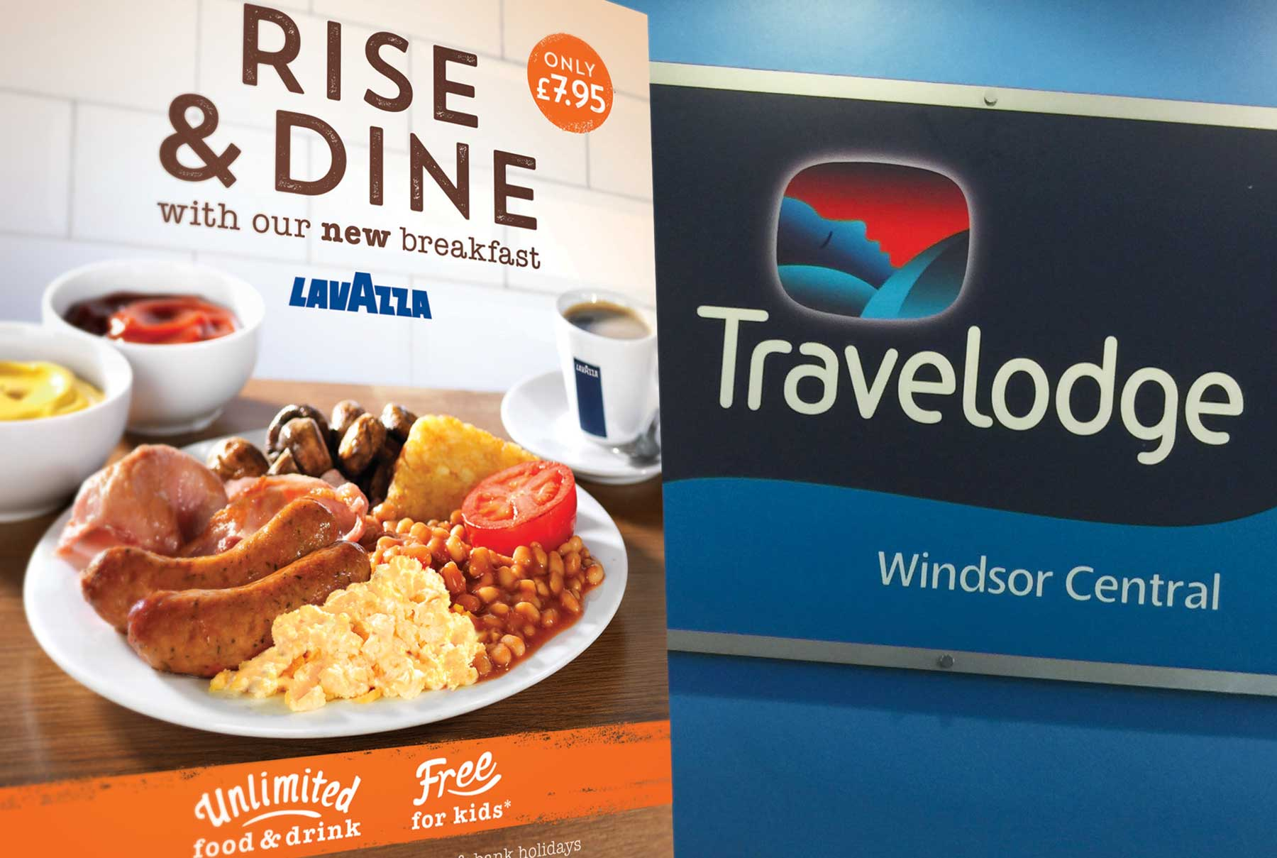 Travelodge Breakfast Campaign