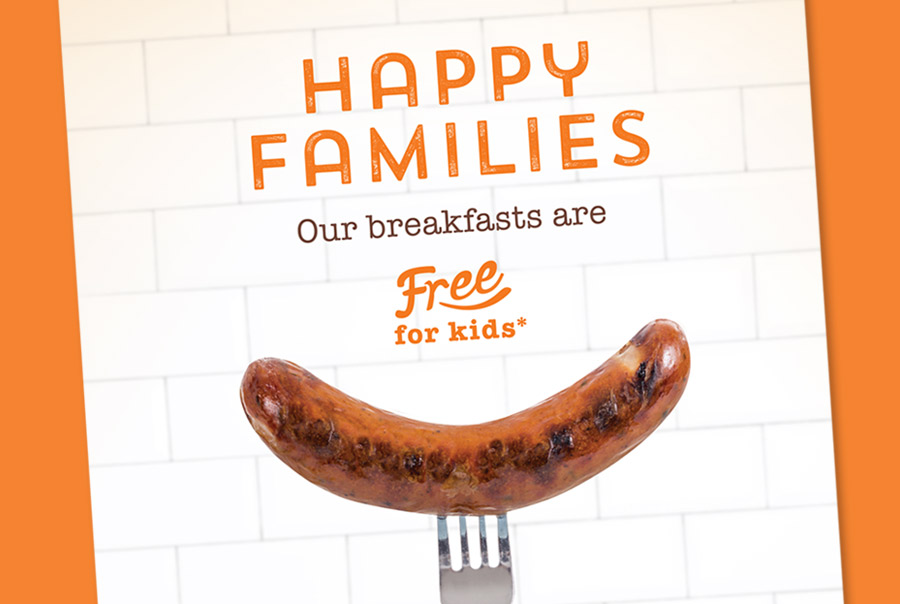 Travelodge Breakfast Campaign Poster