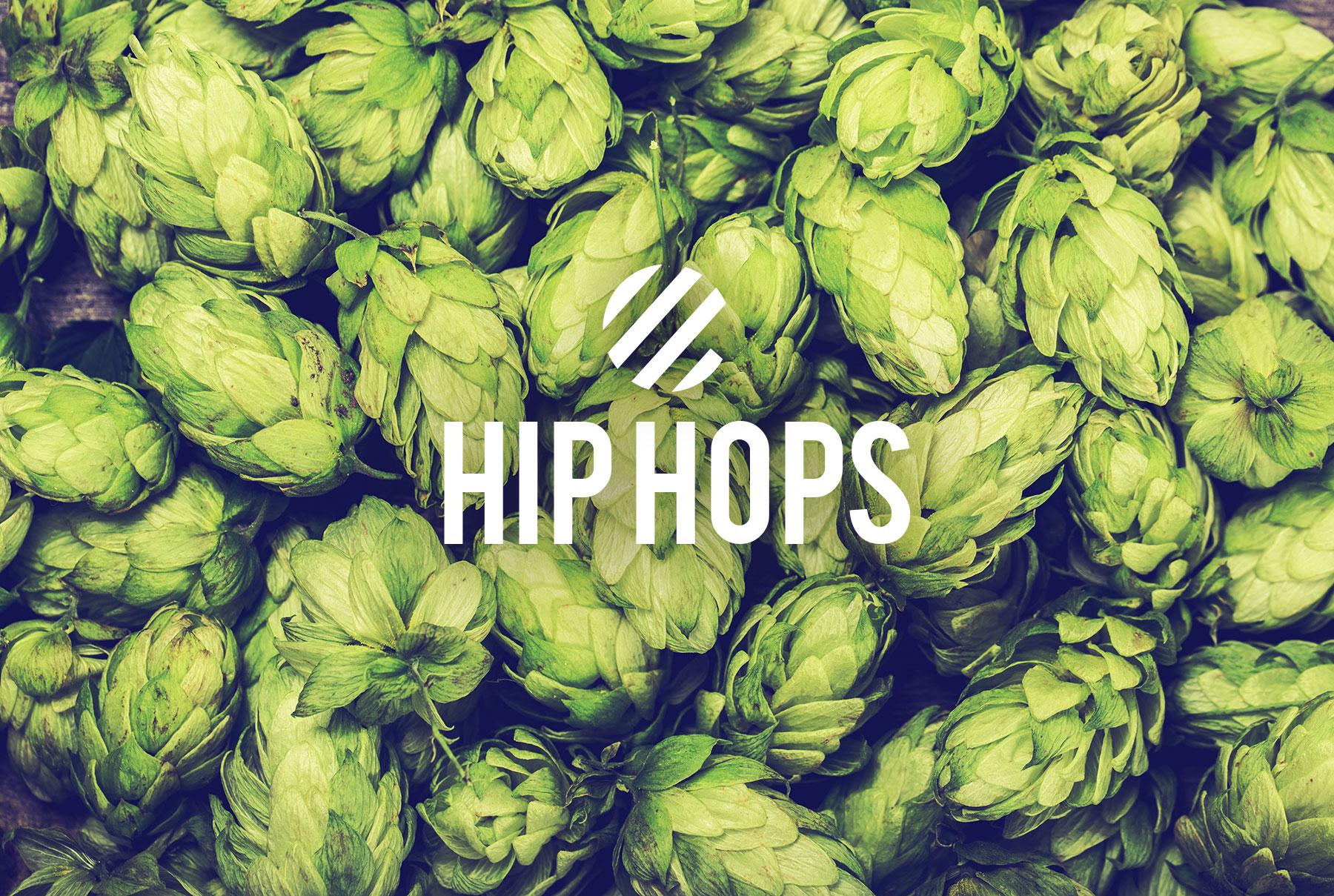 Hip Hops Beer Branding - Hip Hops