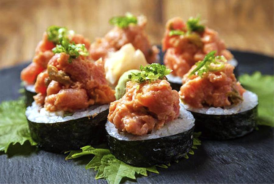 Sunda New Asian's Gambler Sushi Roll